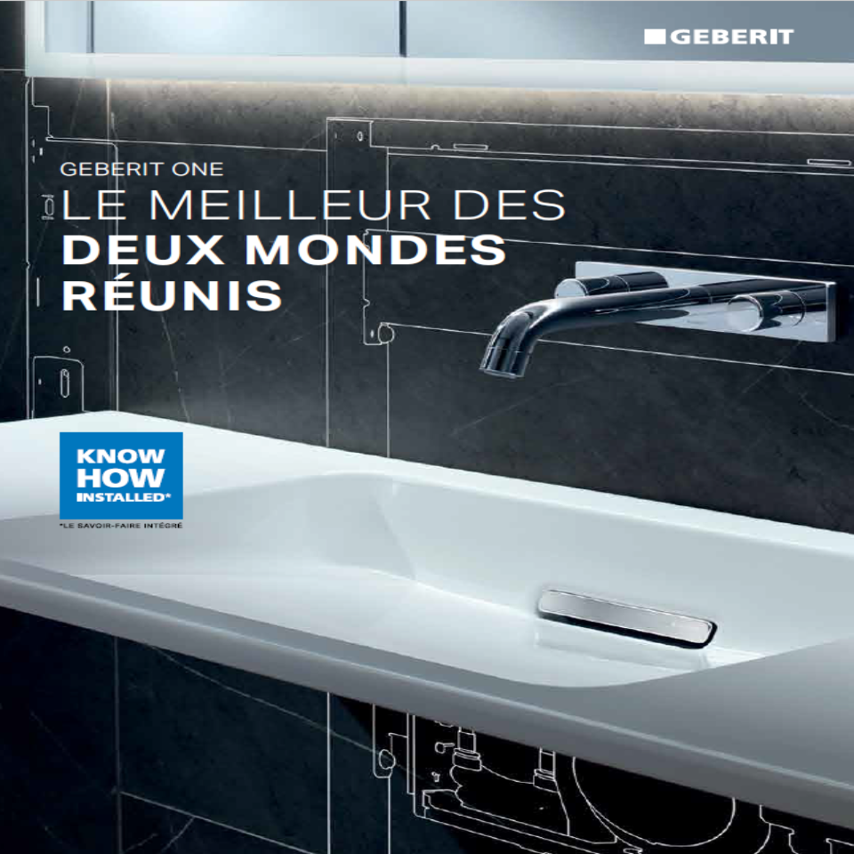 Brochure Geberit One