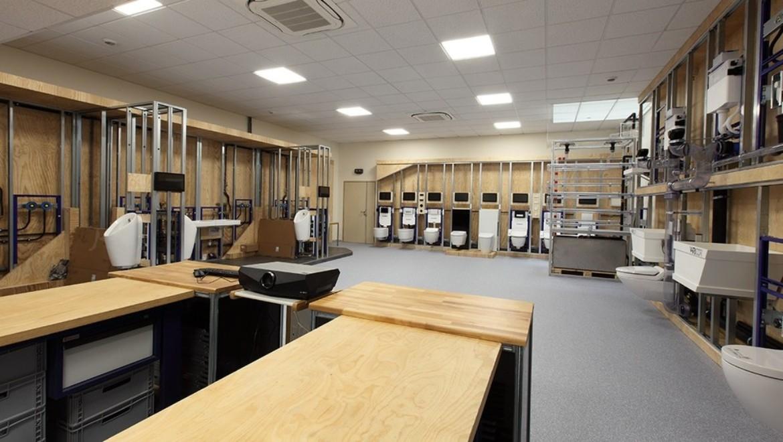 Salle de formation Geberit Samoreau