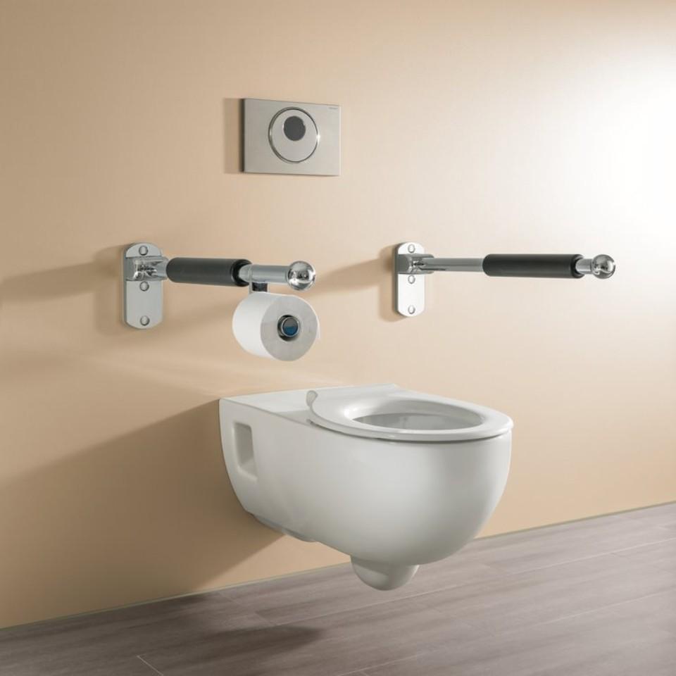 WC suspendu rallongé Geberit Renova Comfort