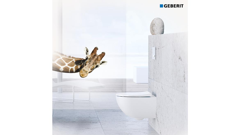 WC suspendu design Geberit